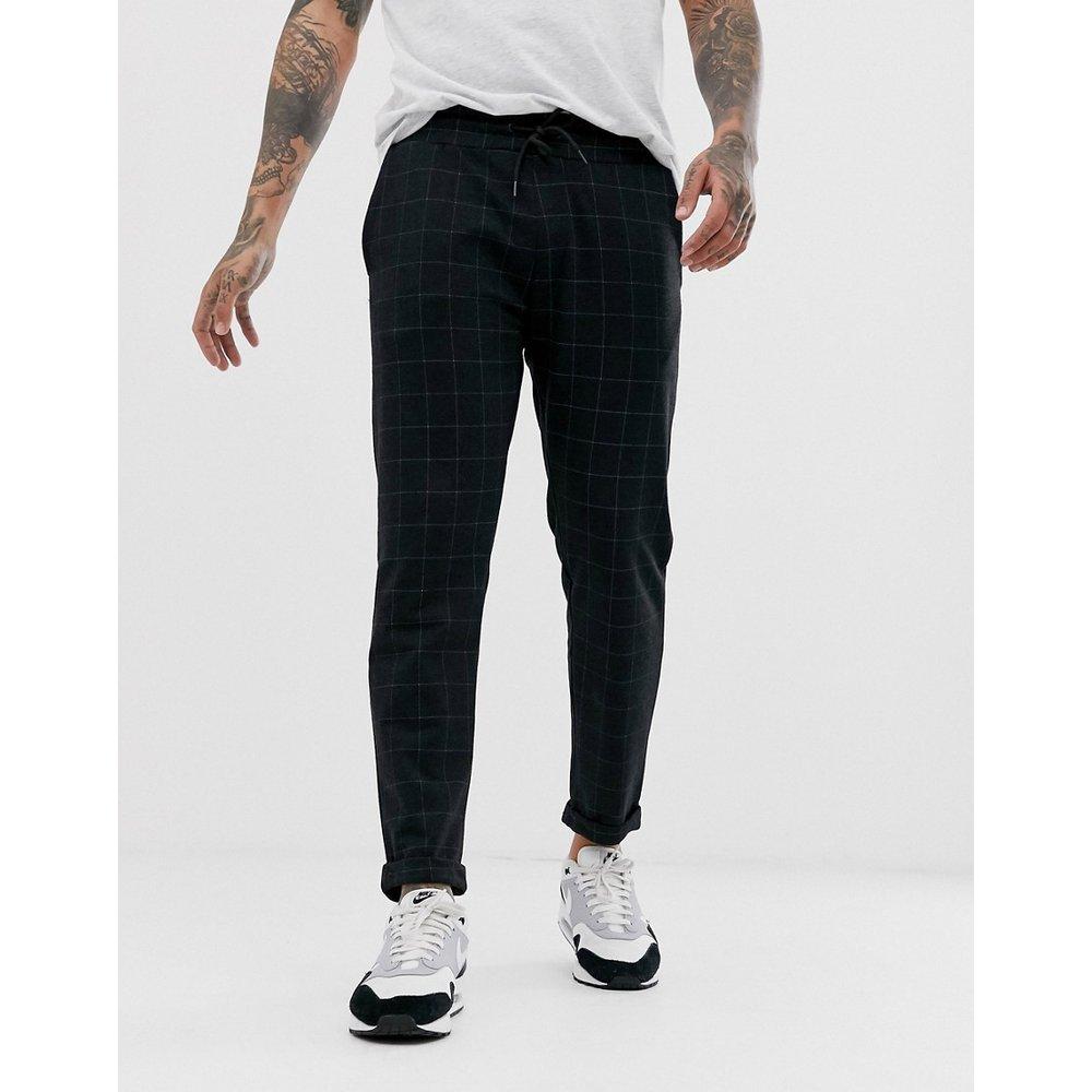 Pantalon à carreaux - foncé - Pull&Bear - Modalova