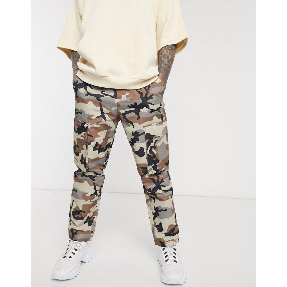 Pantalon cargo - Camouflage - Pull&Bear - Modalova