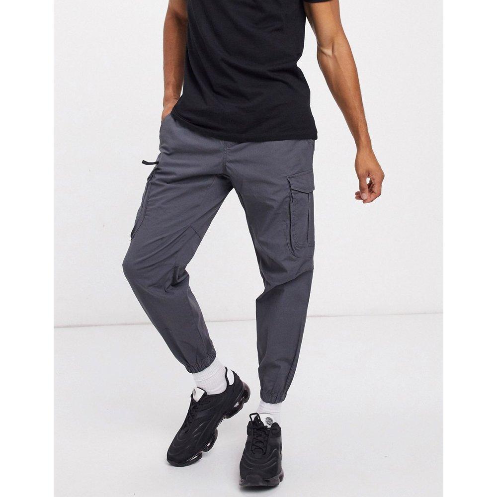 Pantalon cargo en tissu ripstop - Pull&Bear - Modalova
