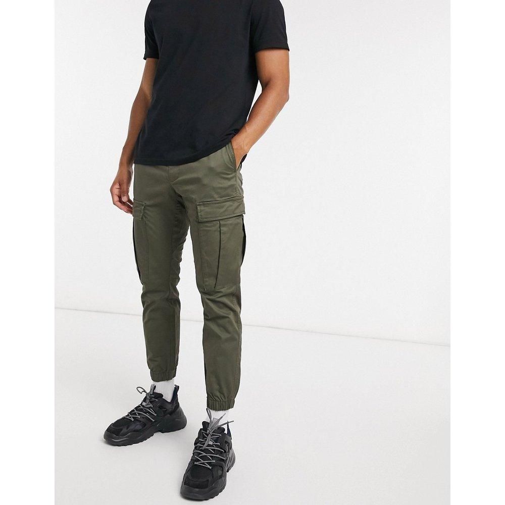 Pantalon cargo - Kaki - Pull&Bear - Modalova