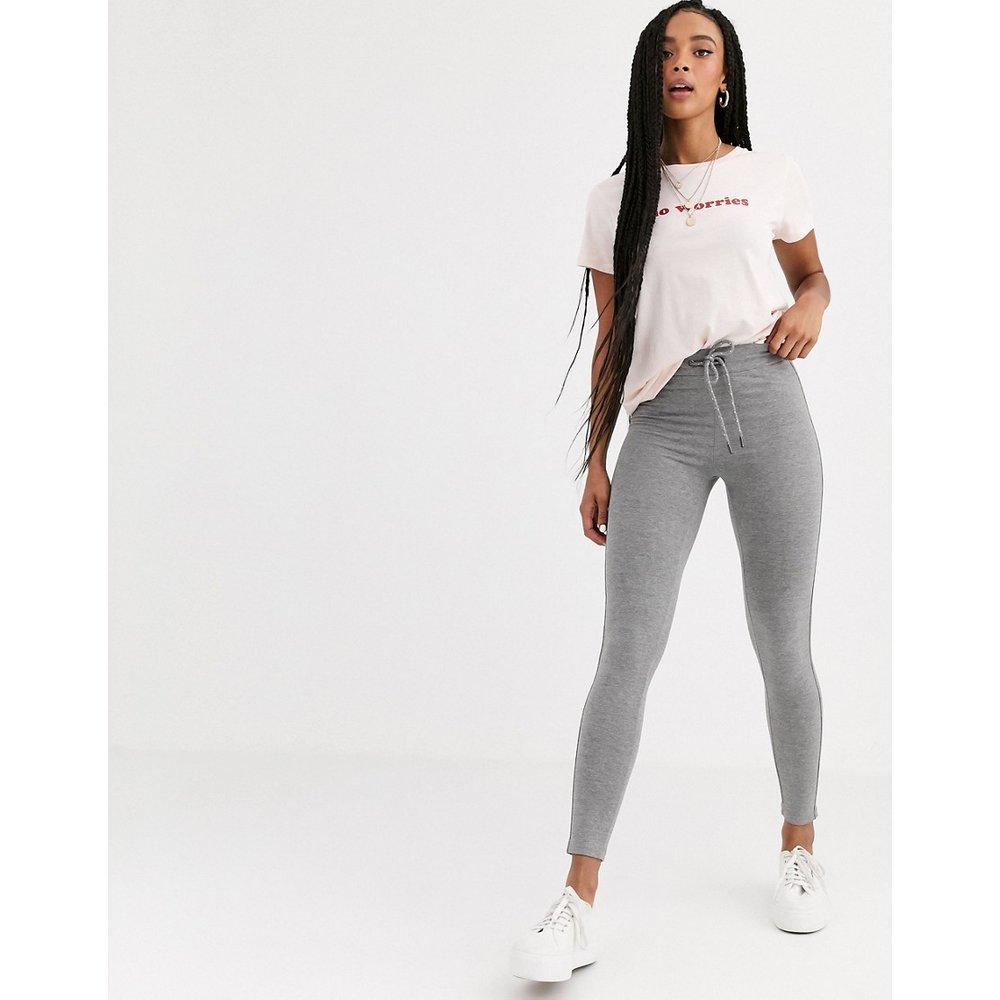 Pantalon de jogging slim à taille nouée - Pull&Bear - Modalova