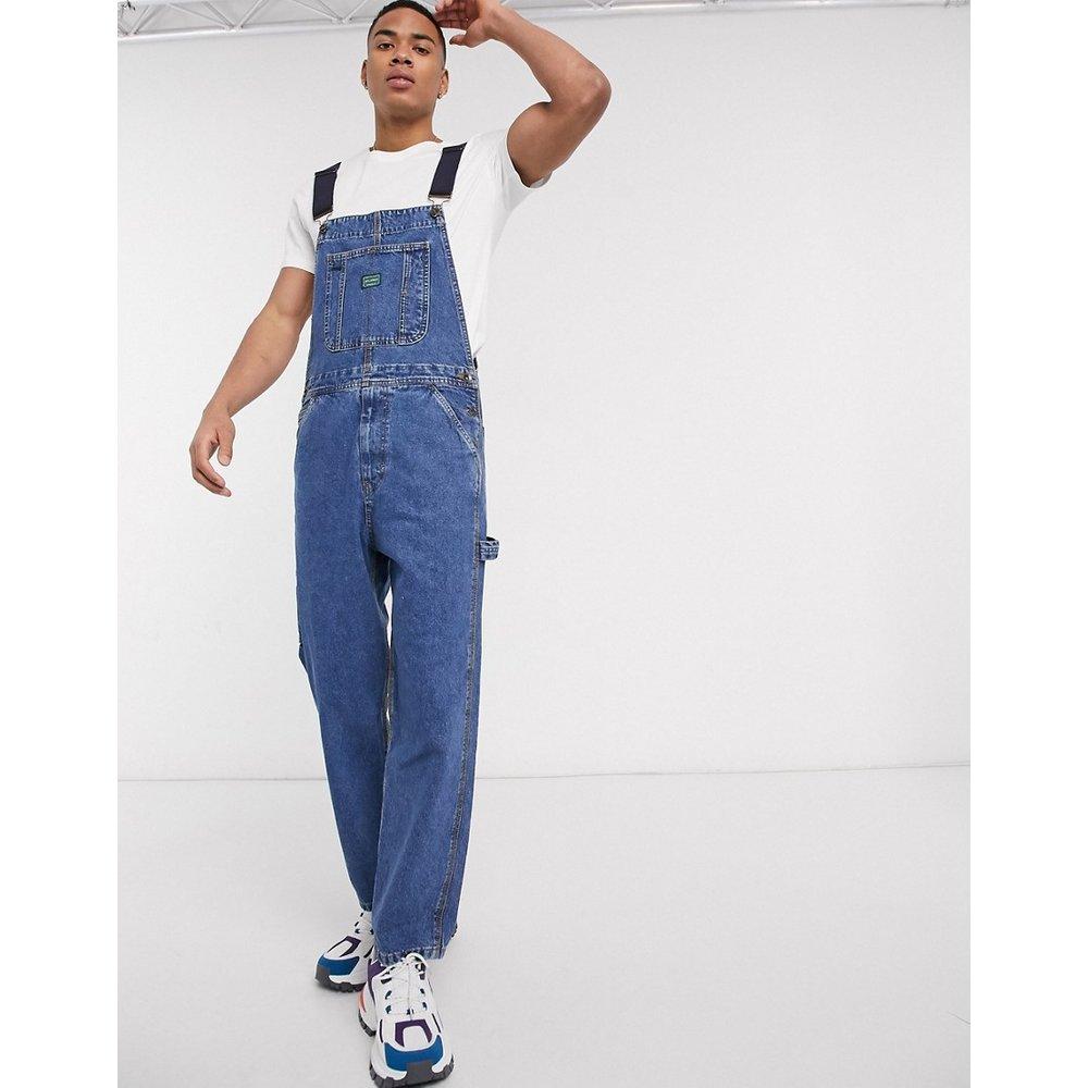 Salopette en jean style fonctionnel - Pull&Bear - Modalova
