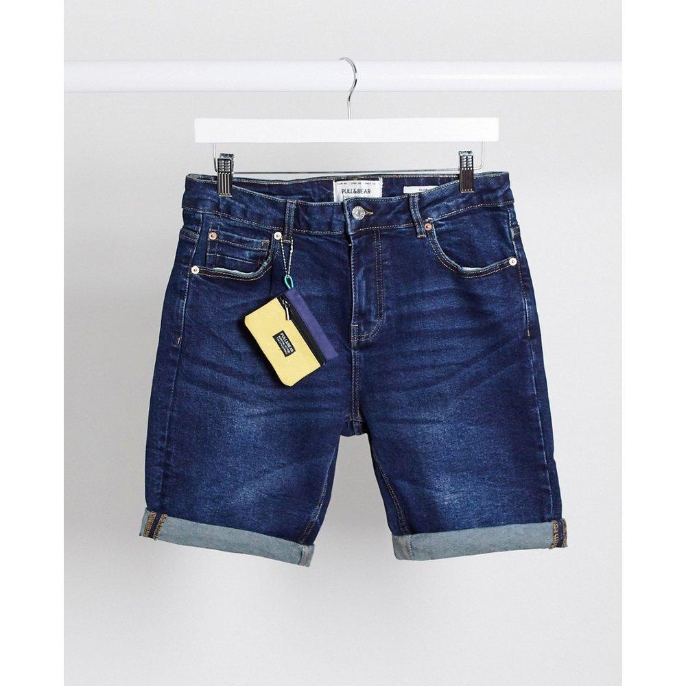 Pull&Bear - Short en jean - Bleu - Pull&Bear - Modalova