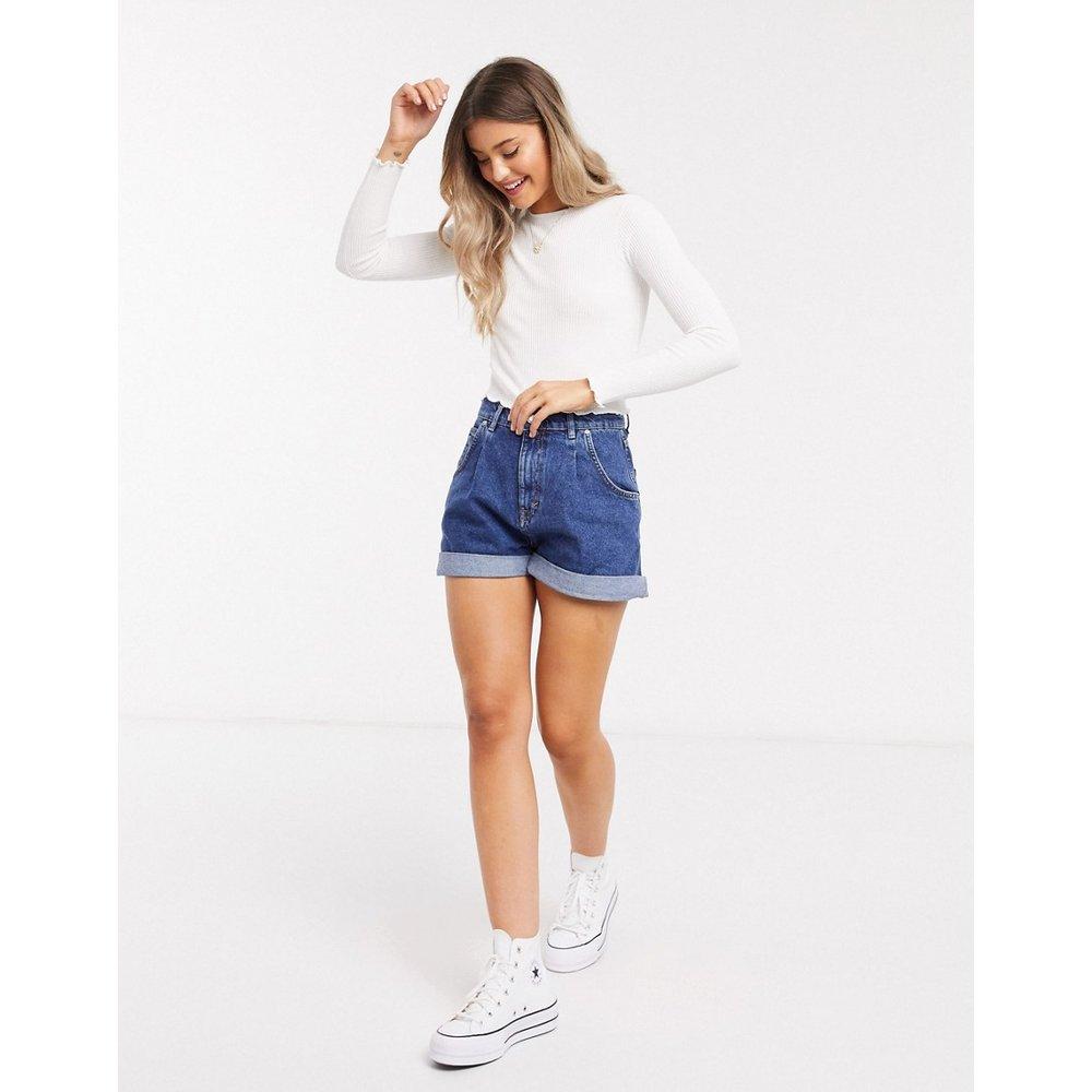 Short en jean - foncé - Pull&Bear - Modalova