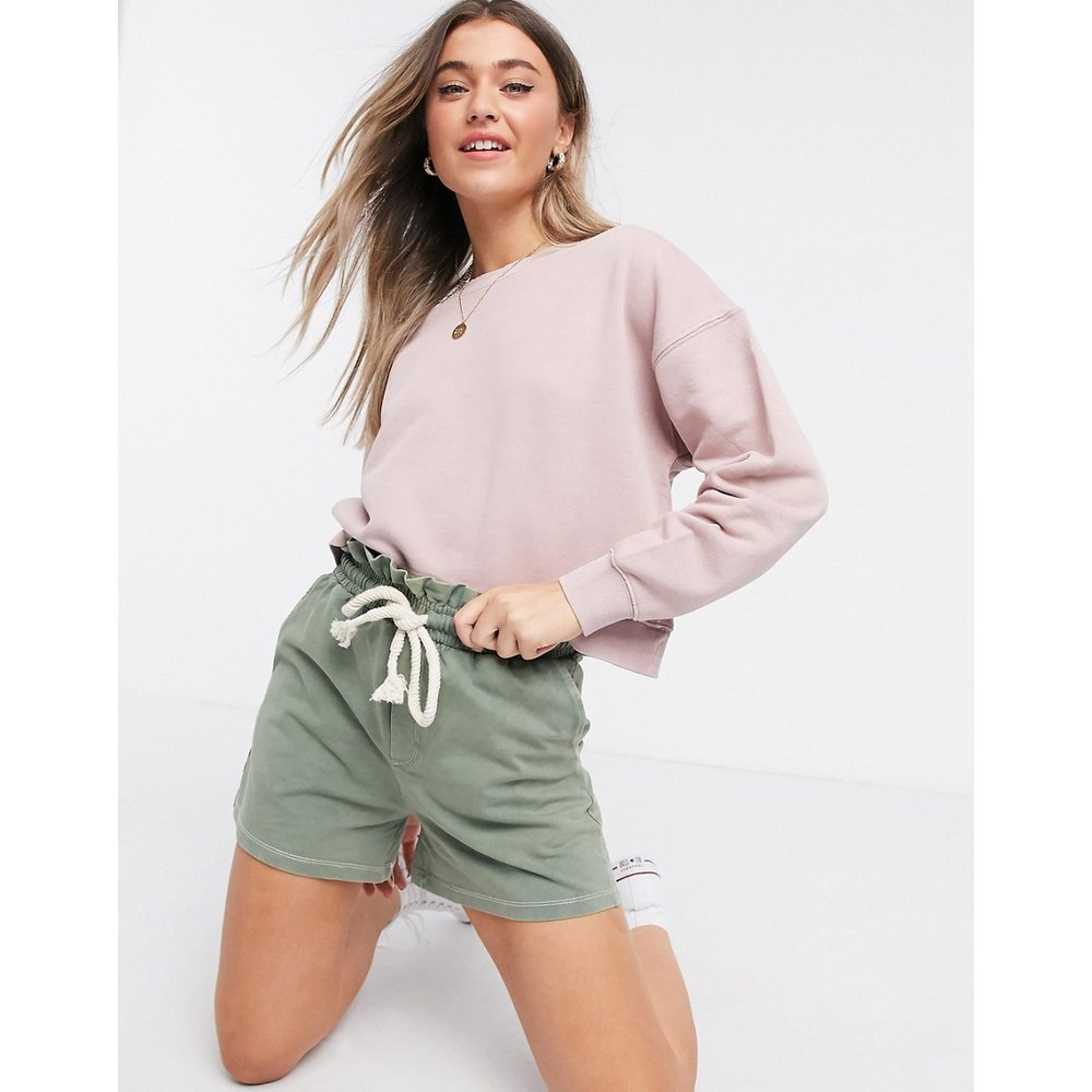 Sweat-shirt court - Robe pastel - Pull&Bear - Modalova