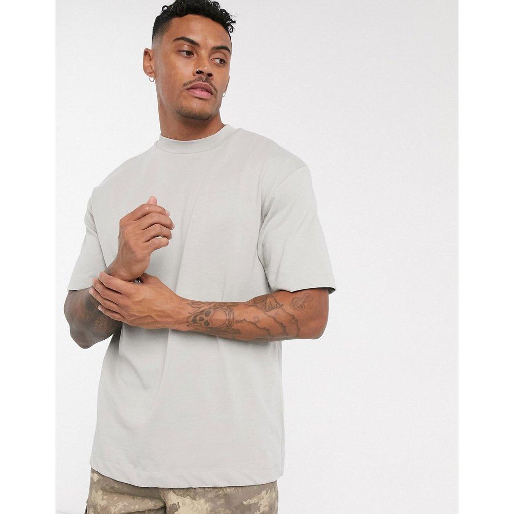 Pull&Bear - T-shirt ample - Blanc - Pull&Bear - Modalova