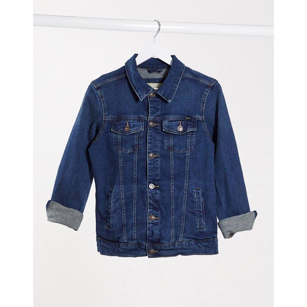 Pull&Bear - Veste en jean - Bleu - Pull&Bear - Modalova