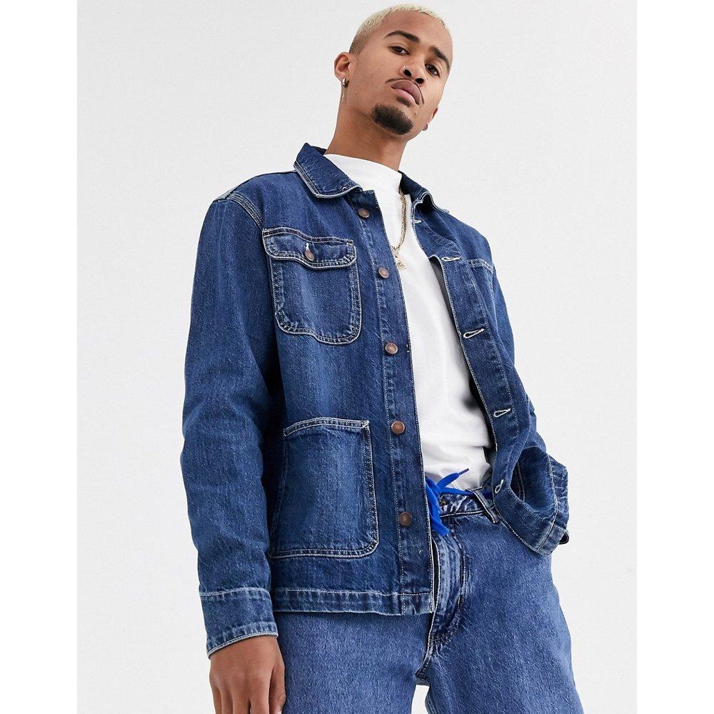 Veste en jean de travail - moyen - Pull&Bear - Modalova