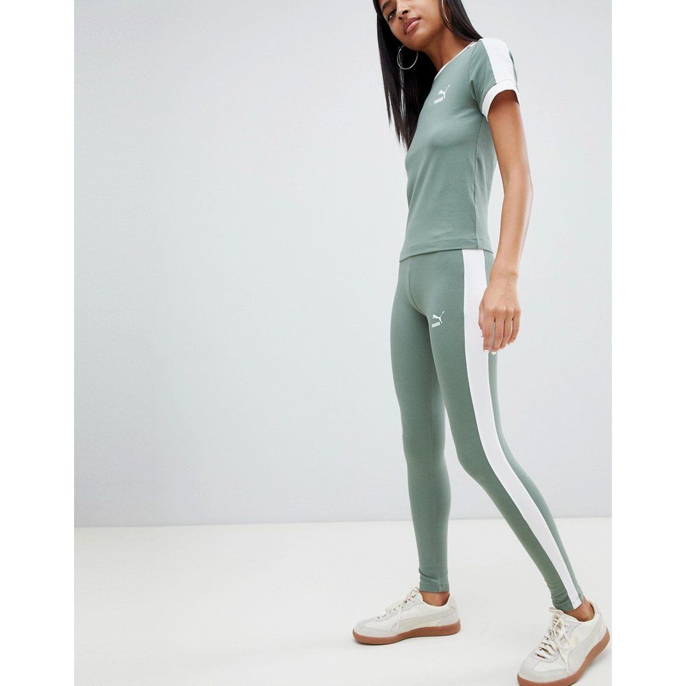 Classics - Legging à logo - Vert - Puma - Modalova