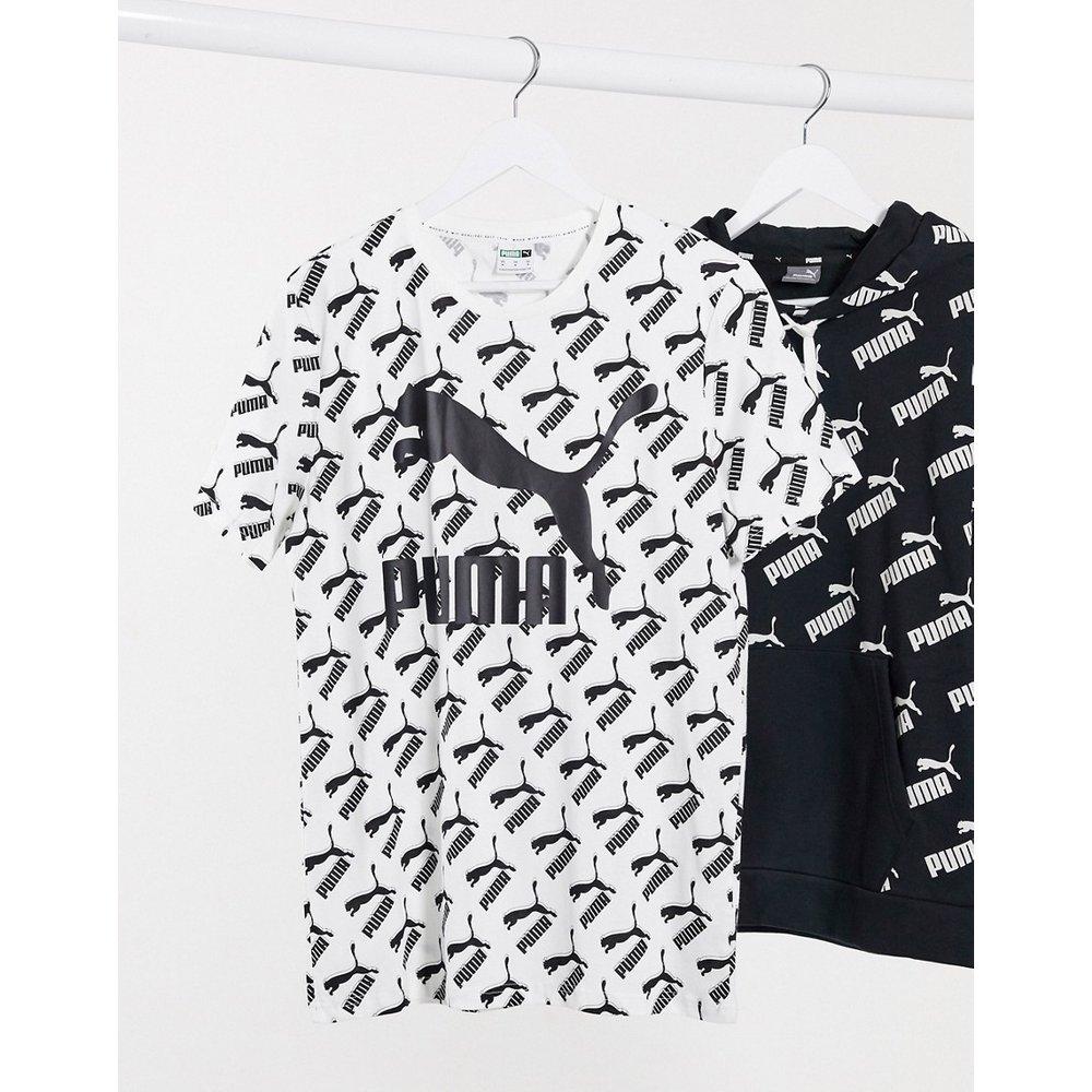 Puma - T-shirt avec logos - Blanc - Puma - Modalova