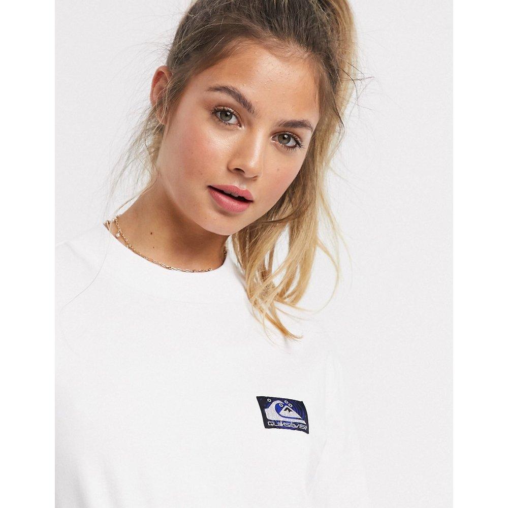 T-shirt col montant à manches longues - Quiksilver - Modalova