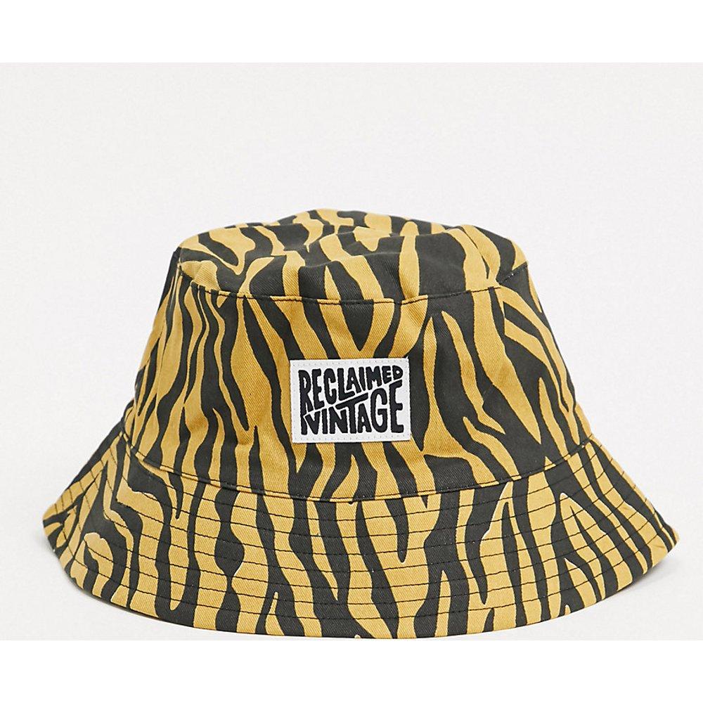 Inspired - Bob à imprimé tigre avec logo - Reclaimed Vintage - Modalova