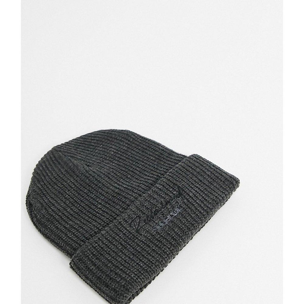 Inspired - Bonnet unisexe à logo - Anthracite - Reclaimed Vintage - Modalova
