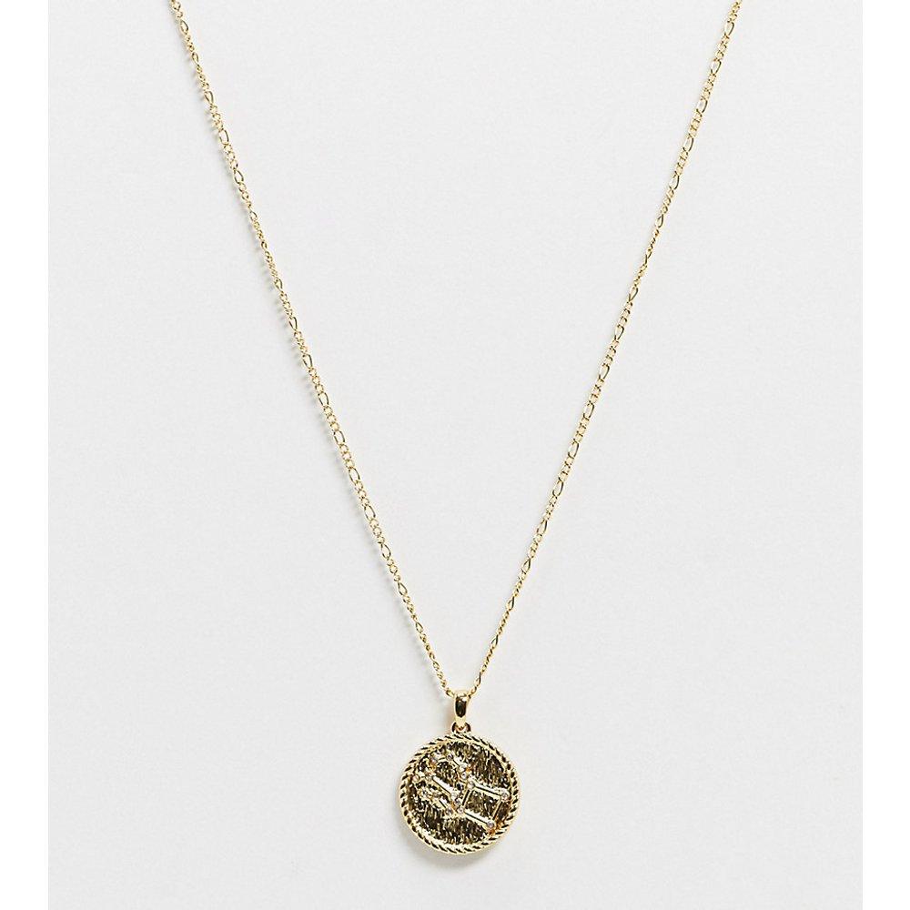 Inspired - Collier à pendentif constellation de Pégase 14 carats de qualité supérieure - Reclaimed Vintage - Modalova