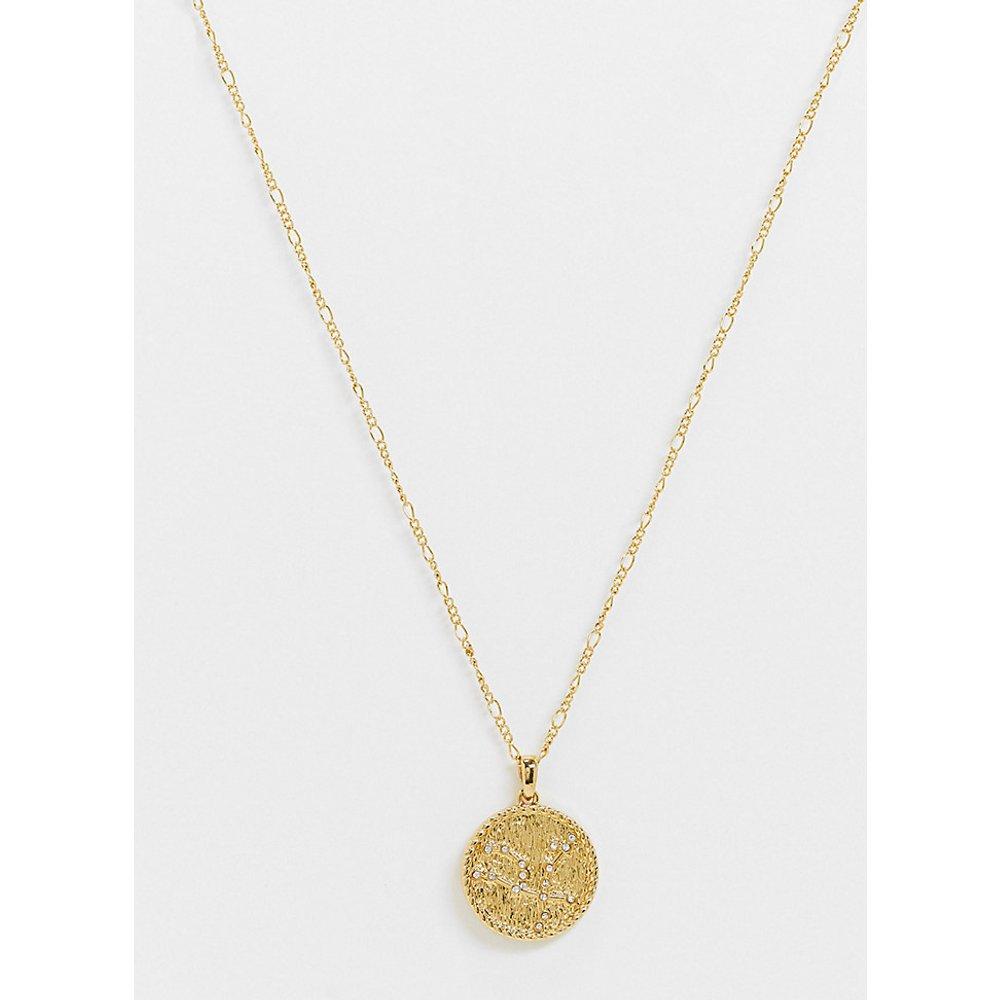 Inspired - Collier à pendentif constellation du Phénix 14 carats de qualité supérieure - Reclaimed Vintage - Modalova