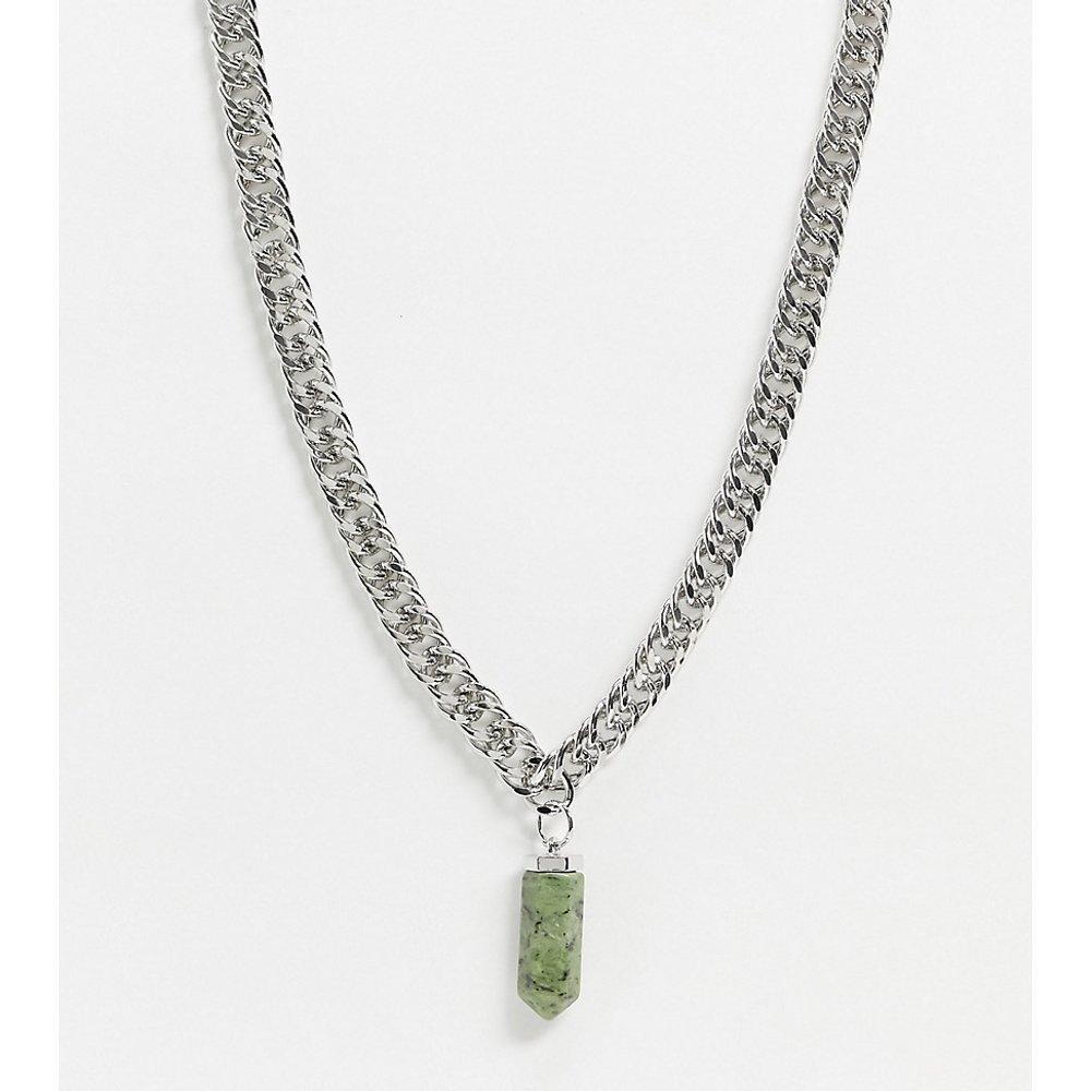 Inspired - Collier chaîne avec perle fantaisie - Reclaimed Vintage - Modalova