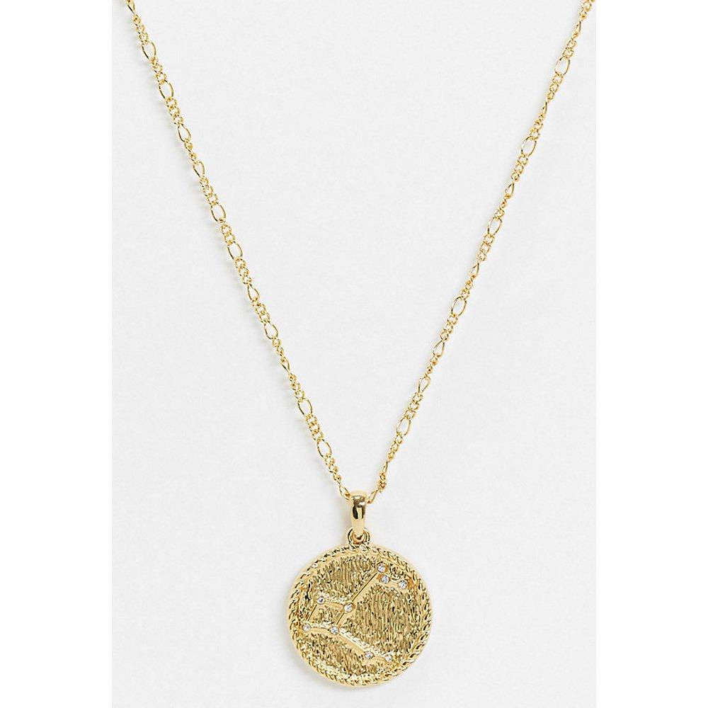 Inspired - Collier de qualité supérieure avec pendentif constellation Andromède 14 carats - Reclaimed Vintage - Modalova