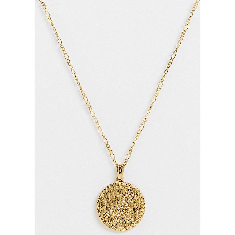 Inspired - Collier de qualité supérieure avec pendentif constellation de l'Hydre 14 carats - Reclaimed Vintage - Modalova