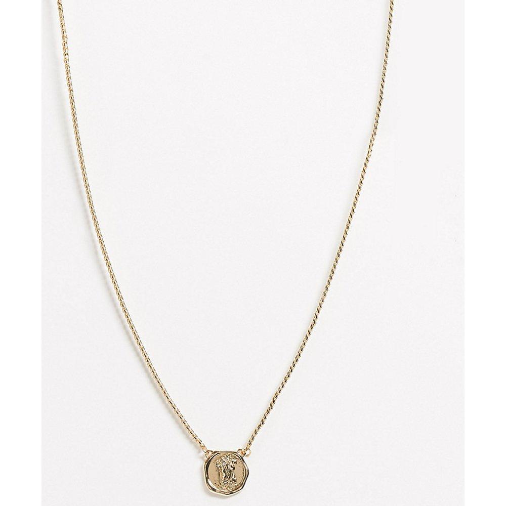 Inspired - Collier médaille de St Christophe - Reclaimed Vintage - Modalova