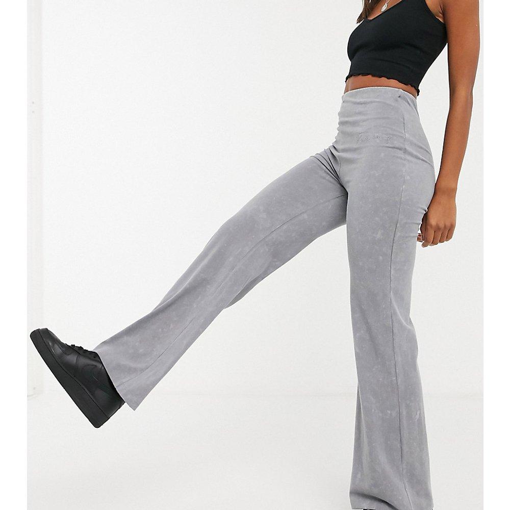 Inspired - Pantalon décontracté évasé - Anthracite - Reclaimed Vintage - Modalova