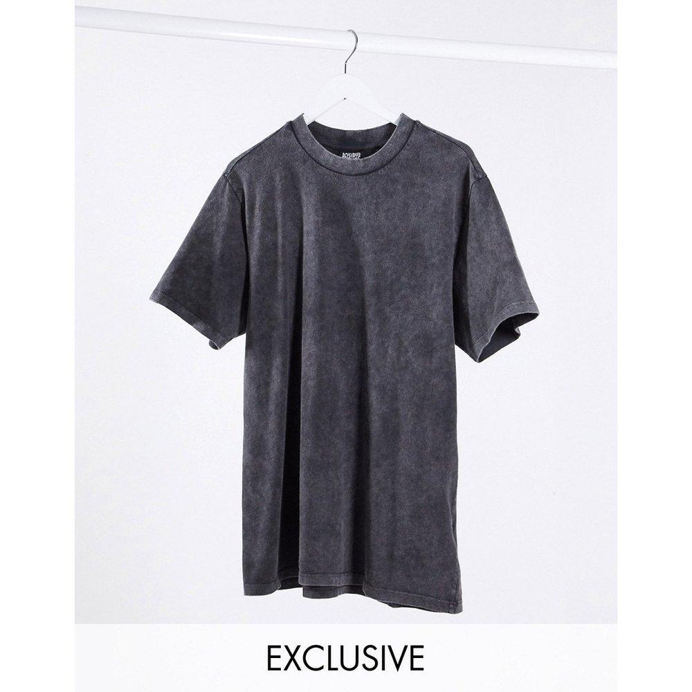 Inspired - Robe t-shirt oversize - Anthracite délavé - Reclaimed Vintage - Modalova