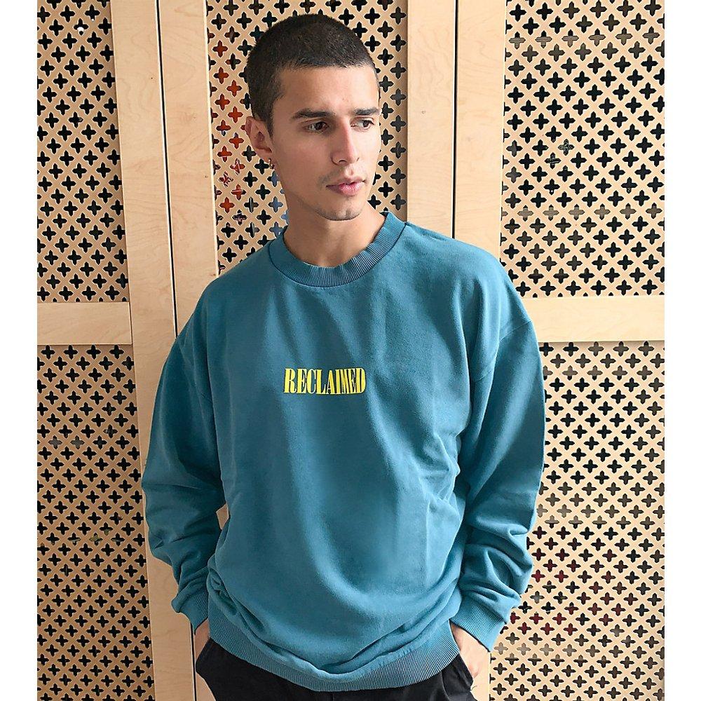 Inspired - Sweat-shirt à logo - Sarcelle - Reclaimed Vintage - Modalova