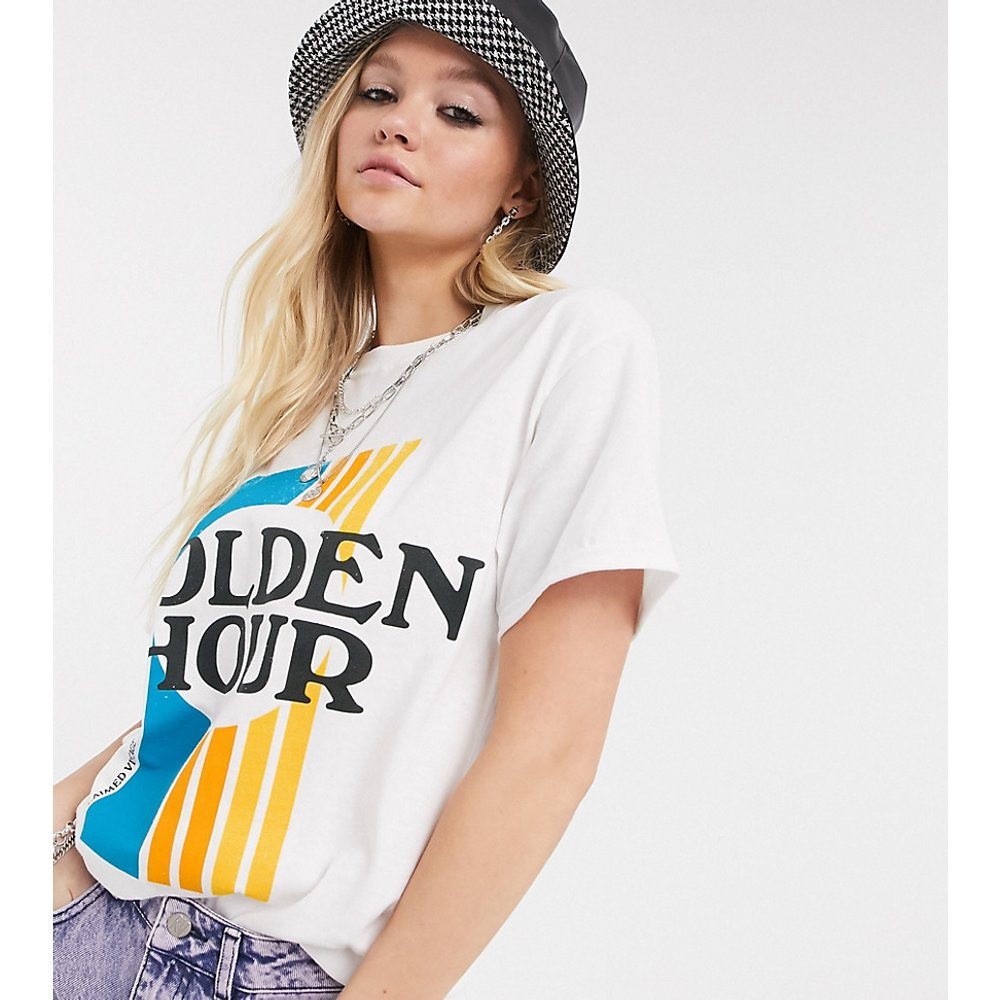 Inspired - T-shirt à imprimé Golden Hour - Reclaimed Vintage - Modalova