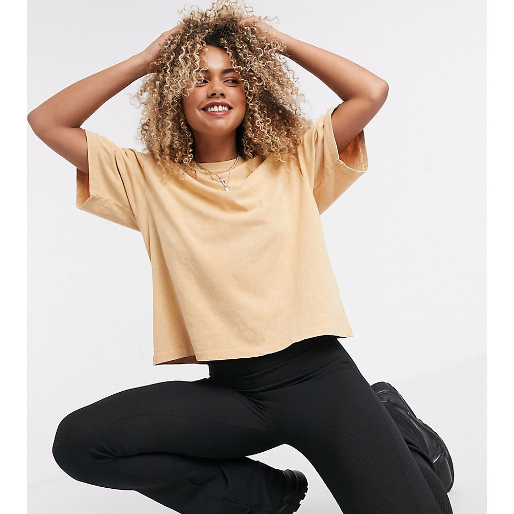 Inspired - T-shirt coupe carrée - Moka - Reclaimed Vintage - Modalova