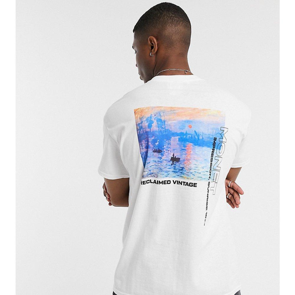 Inspired - T-shirt imprimé toile de Monet - Reclaimed Vintage - Modalova