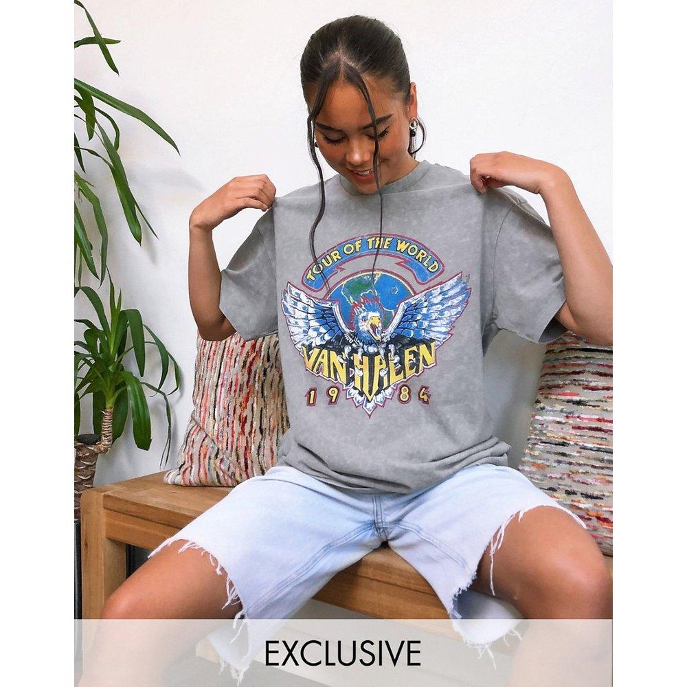Inspired - Van Halen - T-shirt avec imprimé - Reclaimed Vintage - Modalova