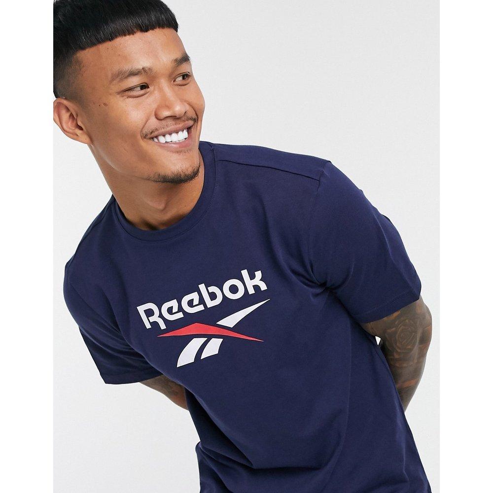 Classics - T-shirt à logo - Bleu marine - Reebok - Modalova