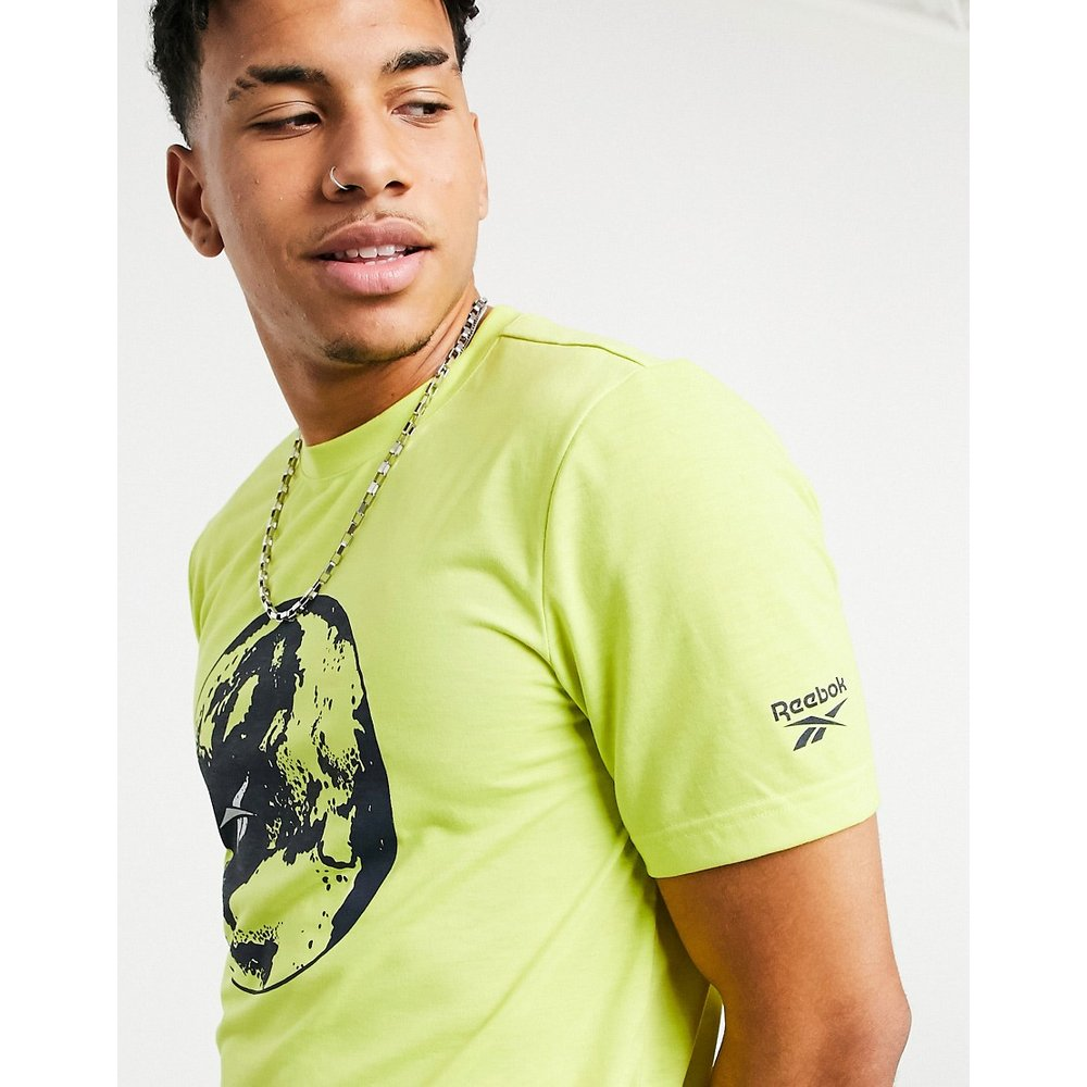 Classics - T-shirt recyclé avec imprimé globe - Reebok - Modalova