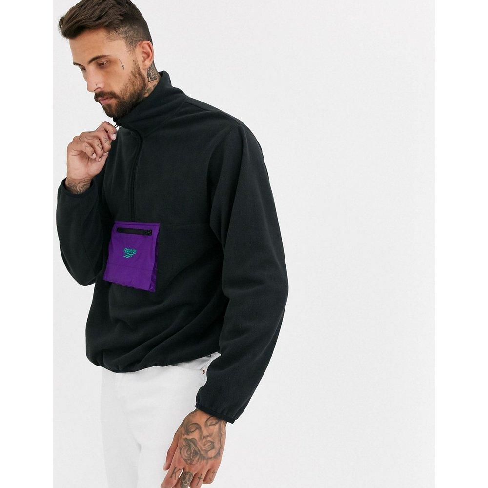 Sweat-shirt en polaire à col zippé - Reebok - Modalova