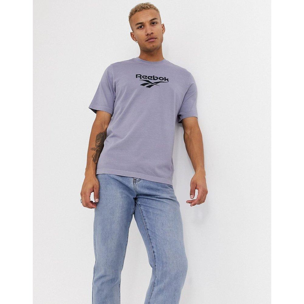 T-shirt de qualité supérieure à logo vecteur - Lilas délavé - Reebok - Modalova