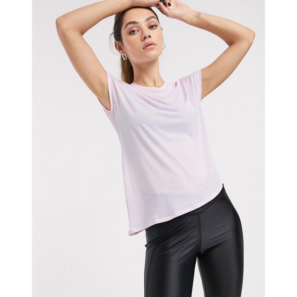 T-shirt de sport noué sur le côté - Reebok - Modalova