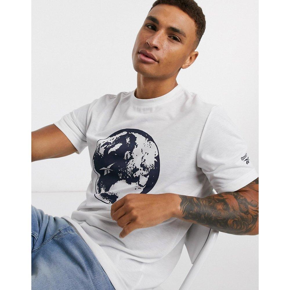 T-shirt recyclé à imprimé globe - Reebok - Modalova