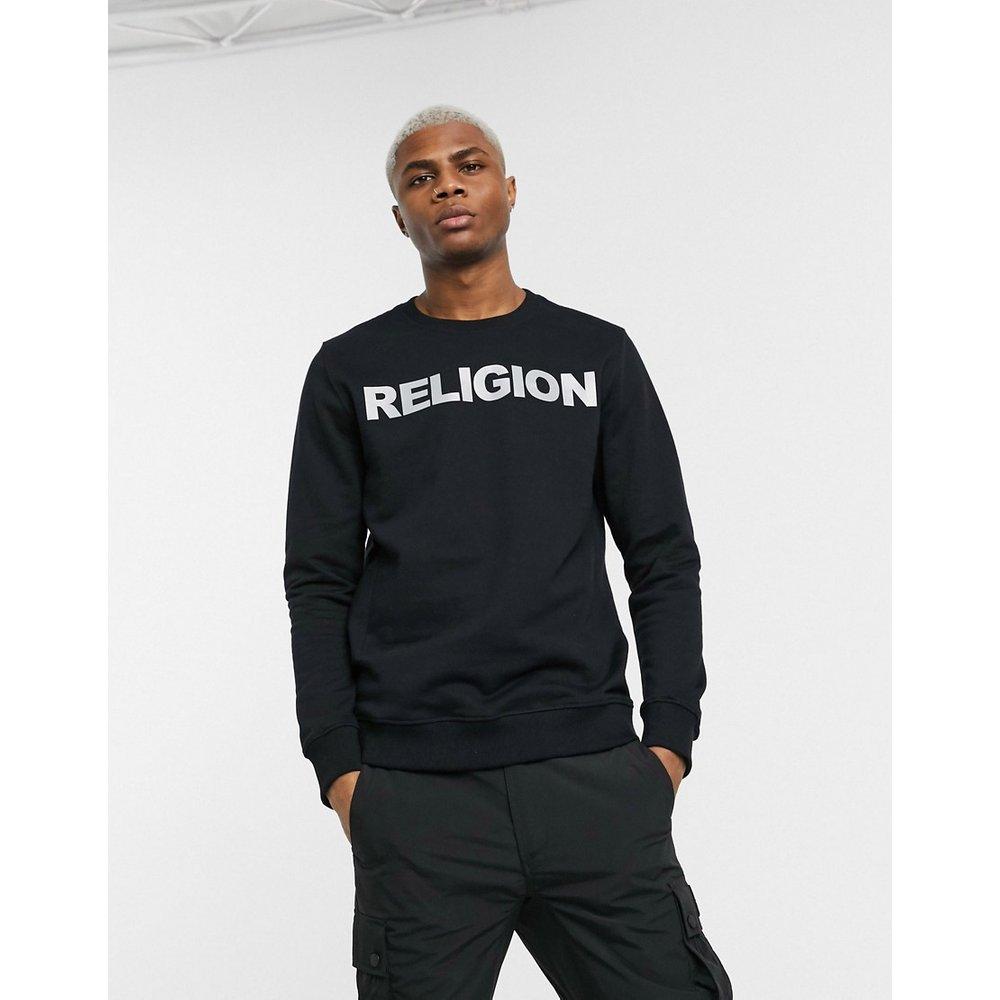 Sweat-shirt à logo réfléchissant - Religion - Modalova
