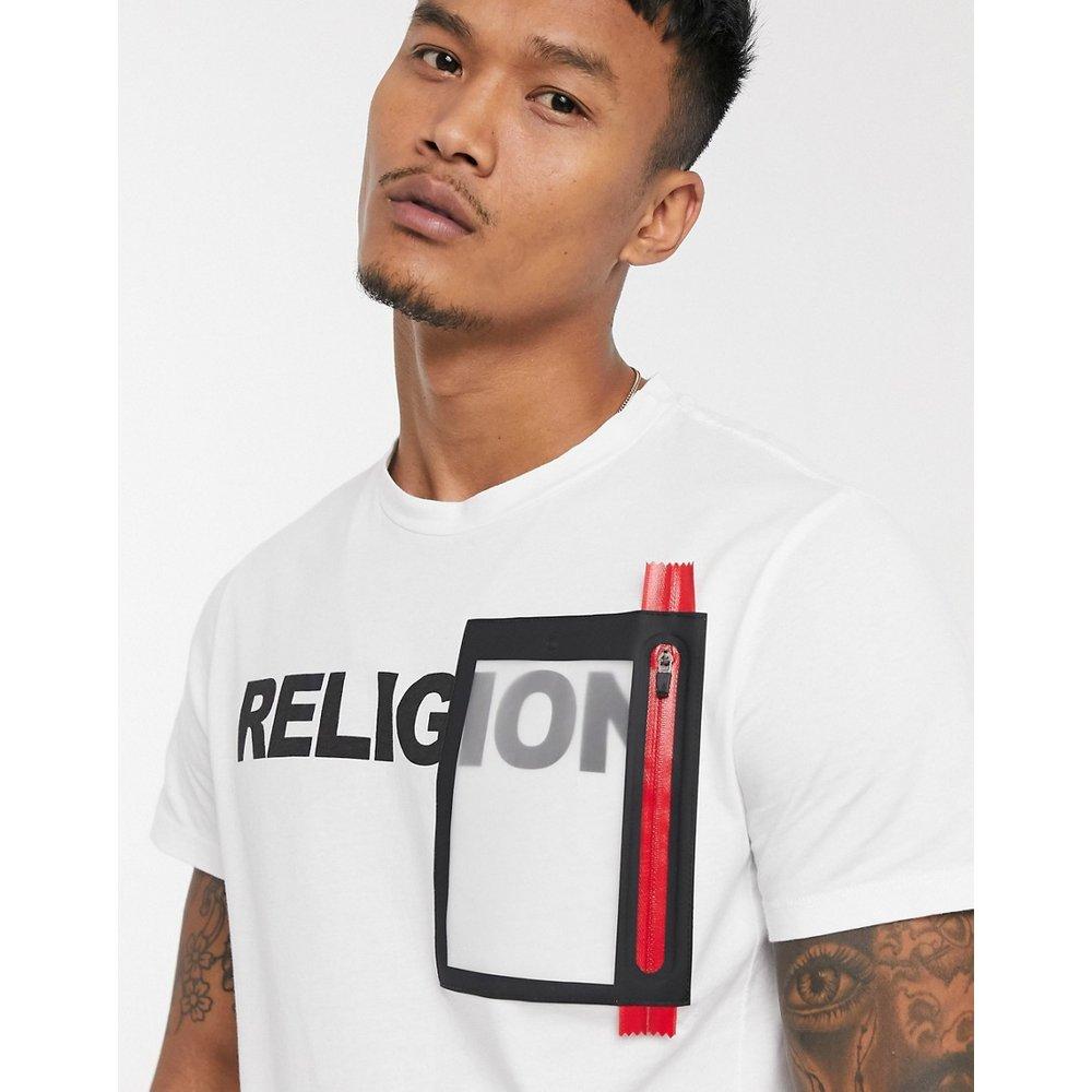 T-shirt à empiècement logo - Religion - Modalova