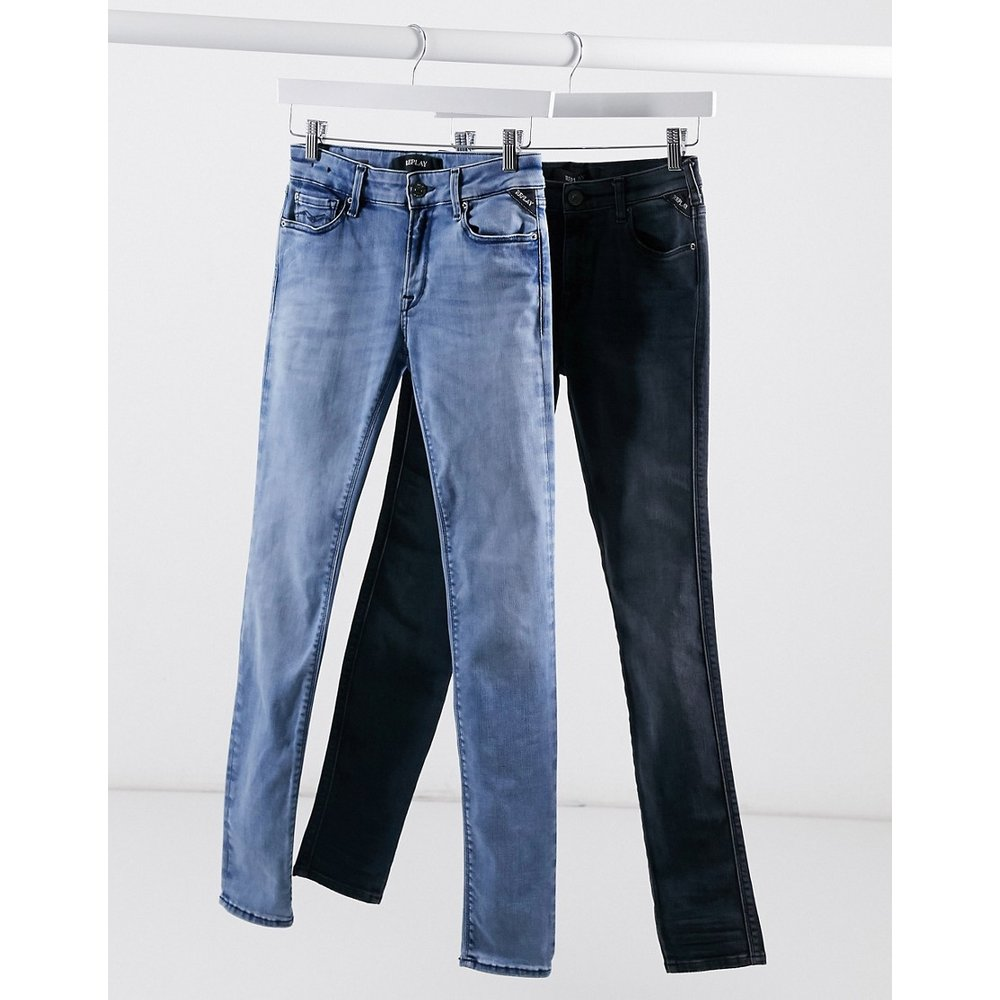 Hyperflex - Pantalon en jean stretch - clair - Replay - Modalova
