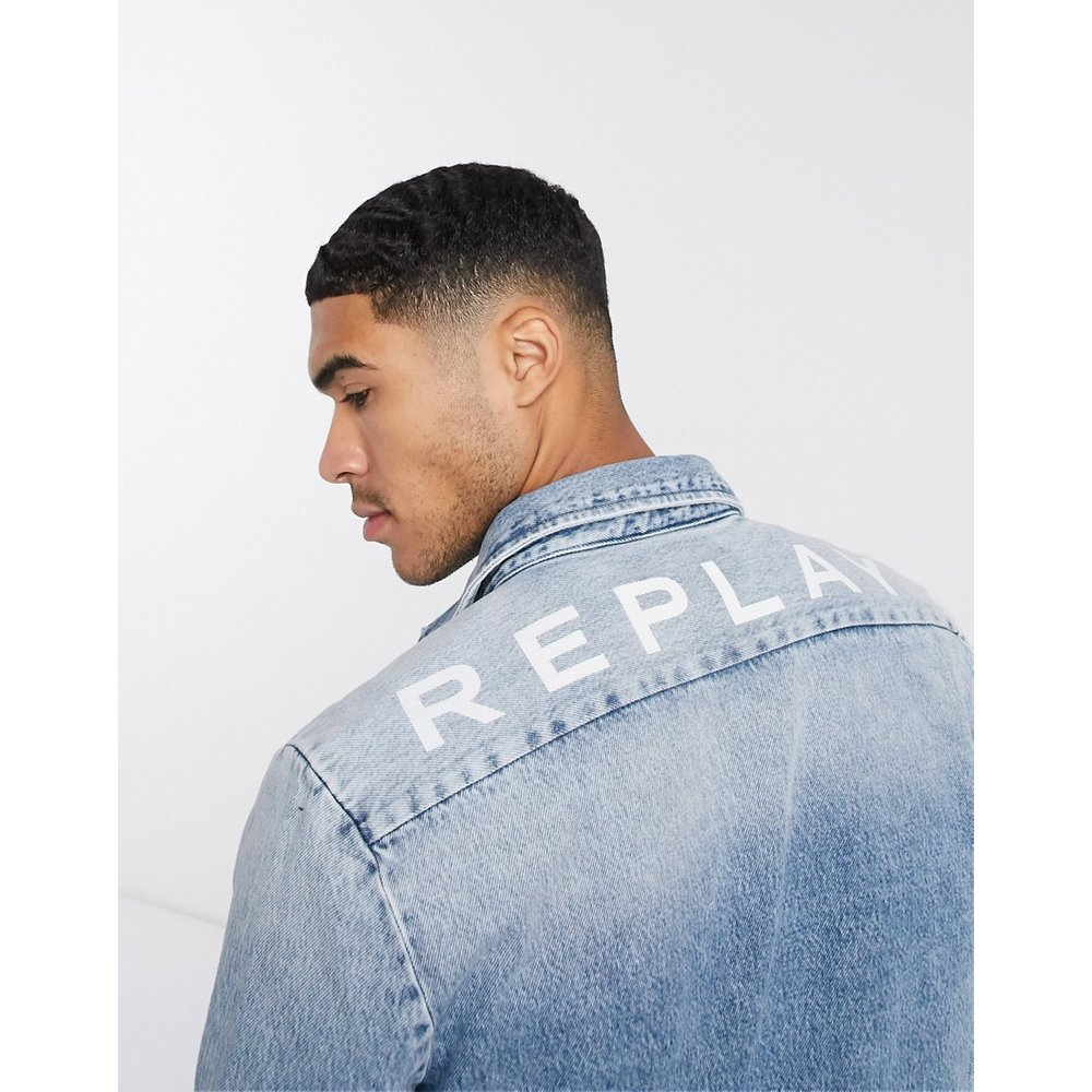 Replay - Veste en jean-Bleu - Replay - Modalova
