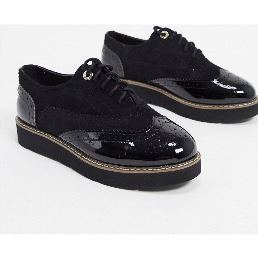 Chaussures richelieu à semelle chunky contrastante - River Island - Modalova
