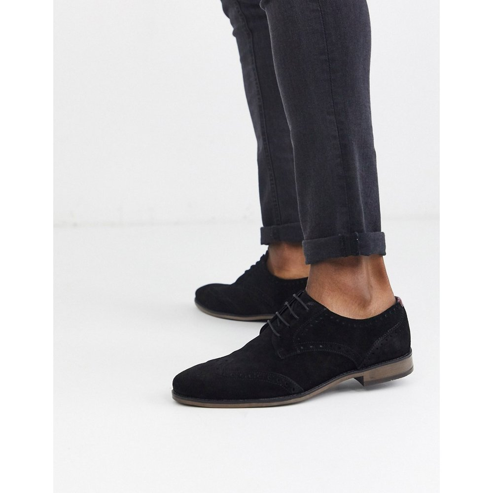 Chaussures richelieu en daim - River Island - Modalova