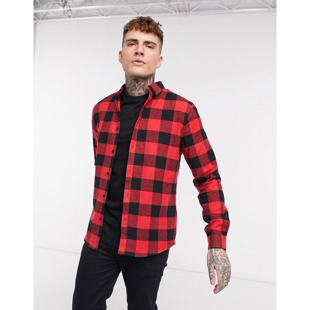 Chemise à carreaux style bûcheron - River Island - Modalova