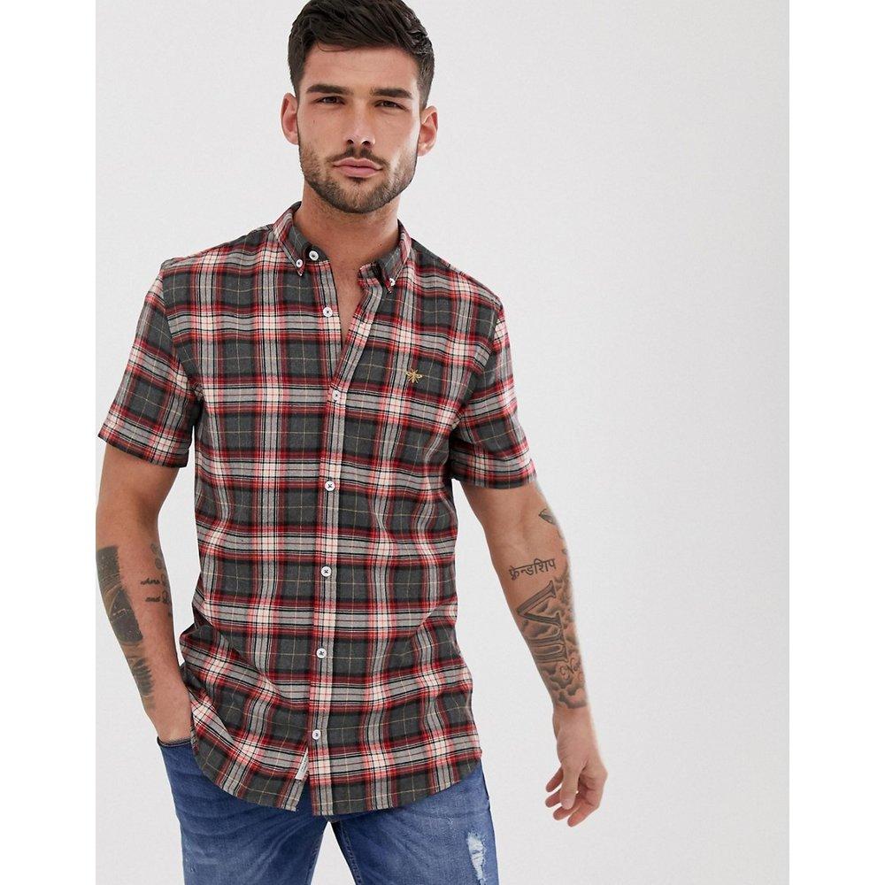 Chemise manches courtes à carreaux - River Island - Modalova
