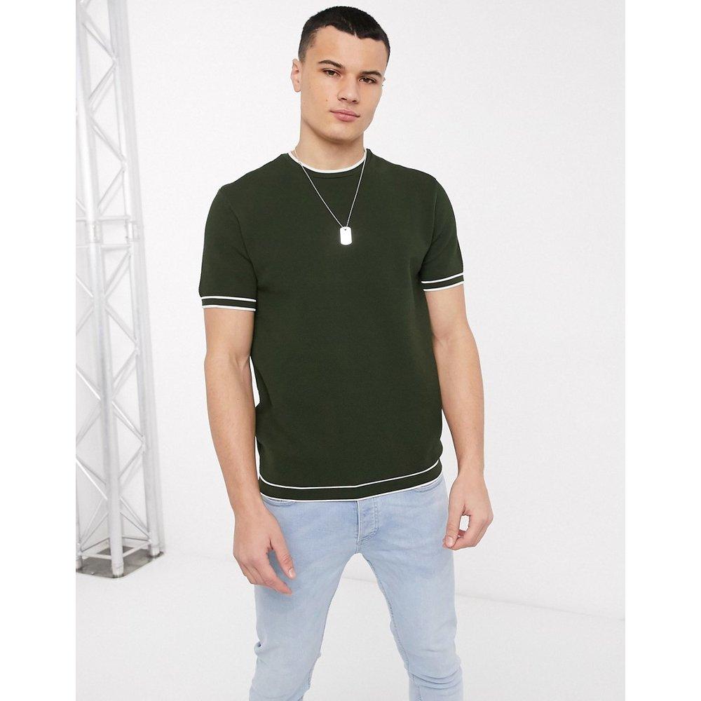 Moss - T-shirt surpiqué - River Island - Modalova