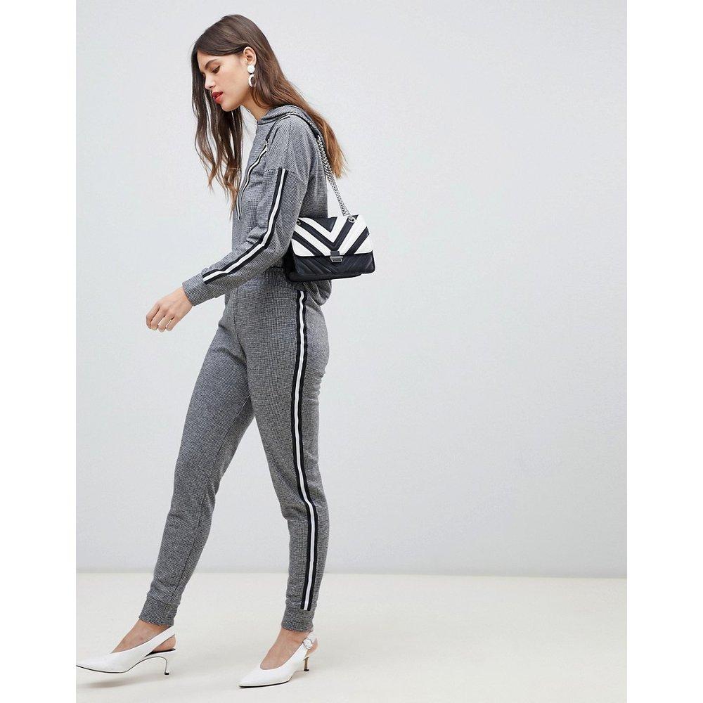 Pantalon de jogging avec bandes - Gris - River Island - Modalova