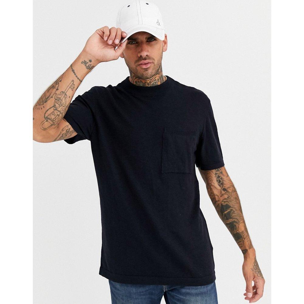 T-shirt en maille - Bleu marine - River Island - Modalova