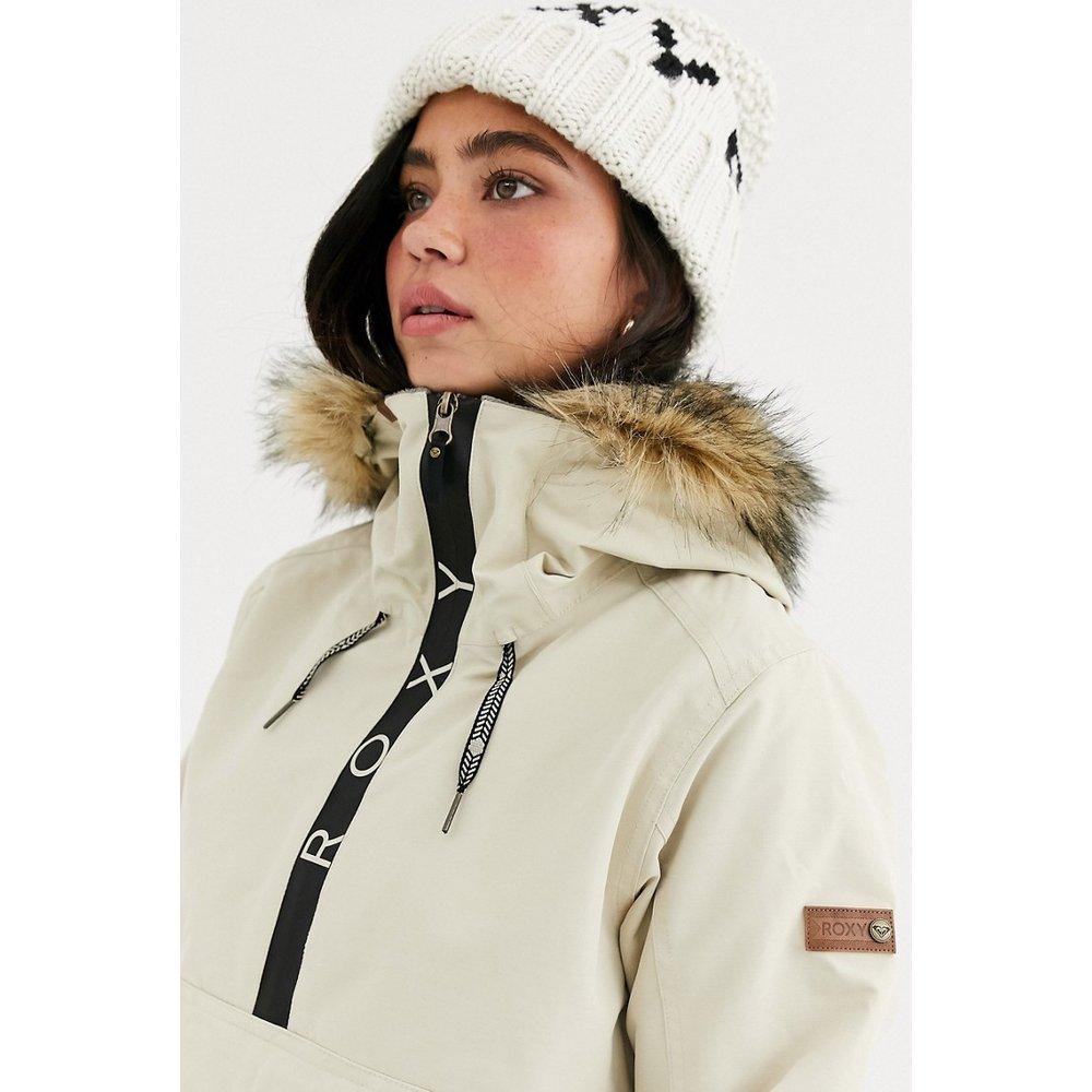 Shelter - Veste de ski avec capuche en fausse fourrure - Roxy - Modalova