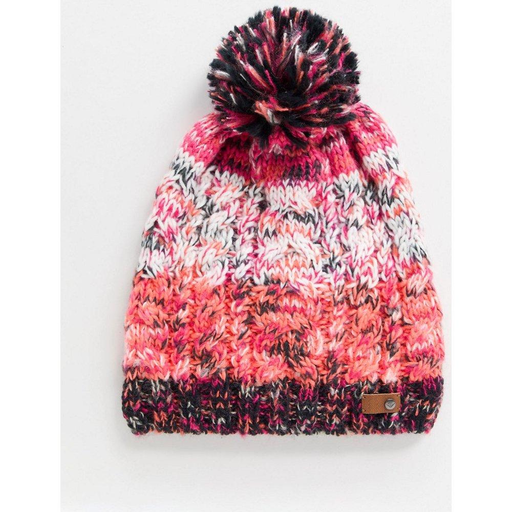Snow Telma - Bonnet color block à pompon - Roxy - Modalova