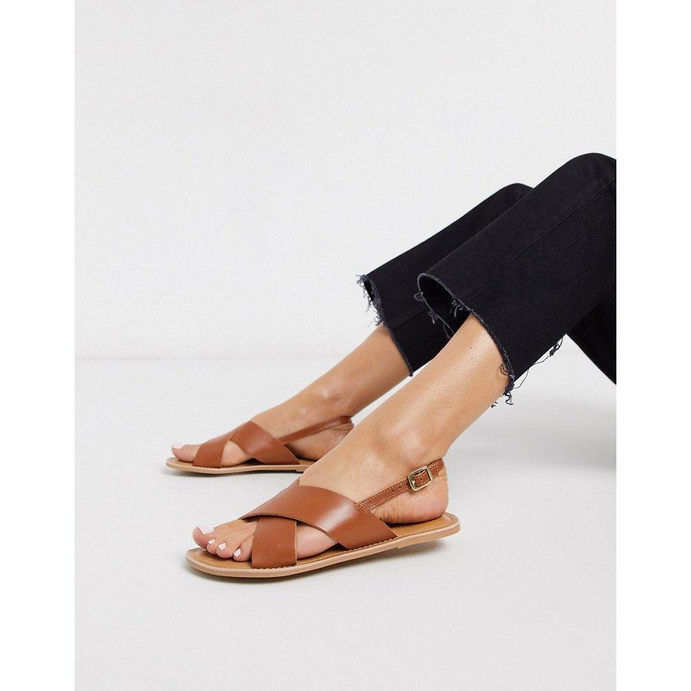 Sandales plates en cuir - Rule London - Modalova